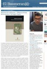 últimas noticias de la escritura de Sergio Chejfec por Patricio Pron